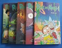 Rick And Morty Graphic Novel TPB Volume 1 2 4 5 7 five book Lot! Softcover!