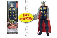 THOR ACTION FIGURE-COMICS BOOKS-MOVIES-MARVEL UNIVERSE-FREE SHIPPING-