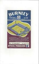 Away Teams F-K Football FA Cup Fixture Programmes (1960s)