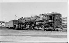 7F035 RPPC 1930s-40s SOUTHERN PACIFIC RAILROAD ENGINE #4206