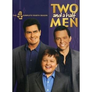 Two And A Half Men: Season 4 On DVD With Charlie Sheen 2 TV Shows Very Good E58