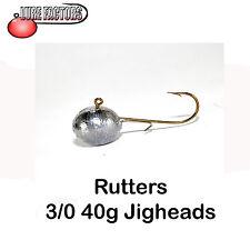 Jigheads 3/0-40 G roundheads C / W alosa mantenendo FILO