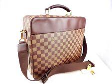 6aca043510af Authentic LOUIS VUITTON Porte Ordinateur Sabana Briefcase Laptop Damier  Ebene