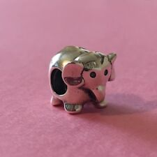 New Genuine Pandora BABY ELEPHANT Charm 790480 Retired Luck Love Animal Birthday