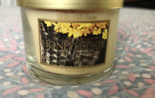 Bath & Body Works Honeysuckle 1.3 oz mini candle with metal lid