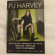 PJ HARVEY JAPANESE PROMO TOUR FLYER JAN 2017