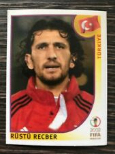 Panini Korea / Japan 2002 Sticker Rustu Recber Turkey Turkiye #189