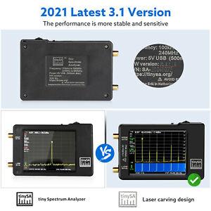 "Handheld Tiny Spectrum Analyzer TinySA 2,8 ""LCD 100khz-960mhz Touch Control"