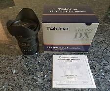 Tokina AT-X PRO 11-16mm f/2.8 MF AF DX SD IF Lens For Canon