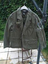 H&M LOGG Jacke für Kinder Jungen - Jacket Nato Militär Grün Übergang - Gr. 110