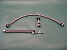 New Braided Stainless steel Fuel Lines set 63-69  MGB 1963-1969