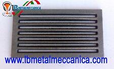 Fondello,Griglia,ghisa,camino,stufe,termocamini 16X29,5 cm LB-GC160295