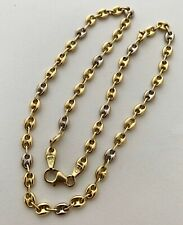 GUCCI STYLE CHAIN NECKLACE, ITALY 18K, 11.7GR, APPR. RETAIL USD $1,700.00