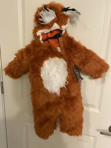 NEW Pottery Barn Kids Woodland Baby Fox Costume 6-12 Months