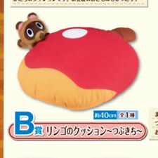 Animal Crossing Ichiban Kuji Prize B Tommy Apple Cushion Tsubukichi Nintendo F/S