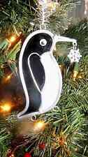 Stained Glass Sun catcher Ornament Penguin