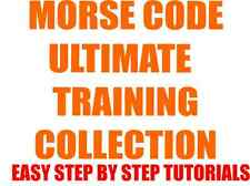 LEARN MORSE CODE & HAM RADIO FAST TRAINING LEARNING LESSON TUTORIAL E-Delivery