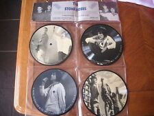 """the stone roses 4 x 7"""" vinyl interview picture disc in hanging display"""