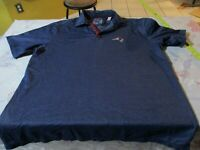 New England Patriots Tommy Bahama Blue Men's Polo Shirt Size L NFL