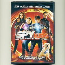 Spy Kids 4 All Time In World 2011 PG family action adventure movie, new DVD Alba