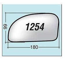 Vetro specchietto Hyundai Getz destro senza piattello 1254D