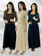 Karen Miller style 6540 champagne Size 8 -- mother of the bride