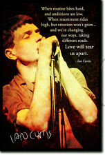IAN CURTIS ART PRINT PHOTO POSTER GIFT JOY DIVISION QUOTE