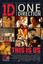 1D One Direction poster : 11 x 17 inches : This Is Us movie poster