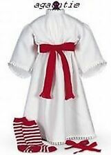 New American Girl Kirsten's St. Lucia Holiday Outfit - Gown, Ribbons & Stockings