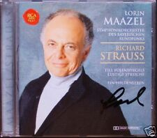 Lorin Maazel SIGNED Strauss un eroi vita till GUFI dei livelli di divertenti birichinate