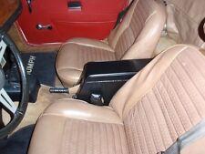Triumph TR6 CENTER CONSOLE. Leather ArmRest PowerJacks Storage TR250 TR4A seats