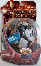 """IRON MAN (Mark II Armor) Iron Man Movie 7"""" inch Action Figure 2008"""