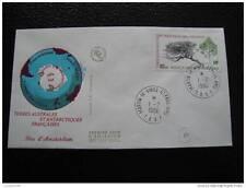 TAAF enveloppe 1er jour 1/2/80 - timbre stamp -yvert et tellier aerien n°60 (cy7