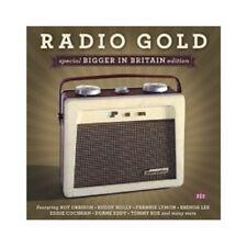 RADIO GOLD-SPECIAL BIGGER IN BRITAIN EDITION  (BUDDY HOLLY/BRENDA LEE/+) CD NEW!