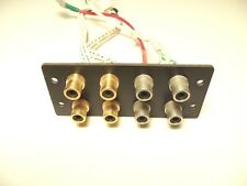 KENWOOD L-07C II CONTROL AMP PARTS - jack assembly - RCA  (input)