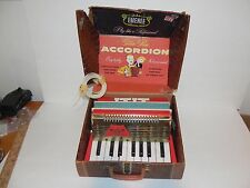 EMENEE GOLDEN PIANO ACCORDIAN ~ VINTAGE  with ORIGINAL PACKAGE - FREE SHIPPING!