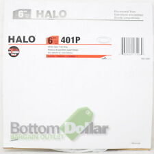 "Halo 401P 6"" Recessed Open Trim Ring White"