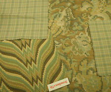 Lee Jofa Carpet Bag & Brunschwig & Fils Agni Bargello & Stout Fabric Remnants
