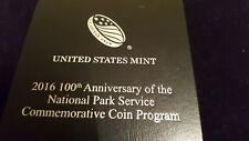 2016 100th Anniversary of the National Park Service Proof Silver Dollar