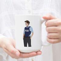 Spencer Reid Criminal Minds Coffee Mug Cup (White) Criminal Minds Reid Mug