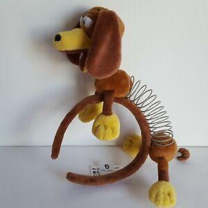 "Disney Parks Toy Story ""Slink"" Puppy Dog Brown Headband Toy Plush Kids Playwear"