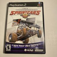 2002 World of Outlaws Sprintcars Sony PlayStation 2 PS2 Complete Free Shipping