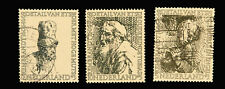 Netherlands Stamp / 1956 / Rembrant Drawings / Set of 3  / Used