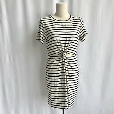57400385b1 Kendall + Kylie Pacsun New Soft Black/white Stripe Dress With Knot Size L