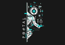 """035 Portal 2 - First Person Puzzle Platform Video Game 20""""x14"""" Poster"""