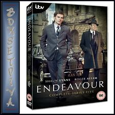 Endeavour Series 5 DVD 2018 DVD Region 2