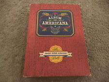 Vintage Storybook Doll Album of Americana Mary Todd Lincoln All Original in Box