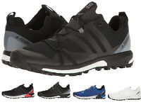 Adidas Outdoor Men's Terrex Agravic Boost Trail Running Shoes Sneakers NEW Black