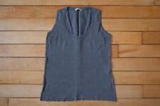 Margaret Howell Smedley Grey Sea Island Cotton Vest