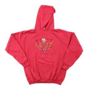 San Francisco 49ers Hoodie Sweater Logo Athletic Sz L